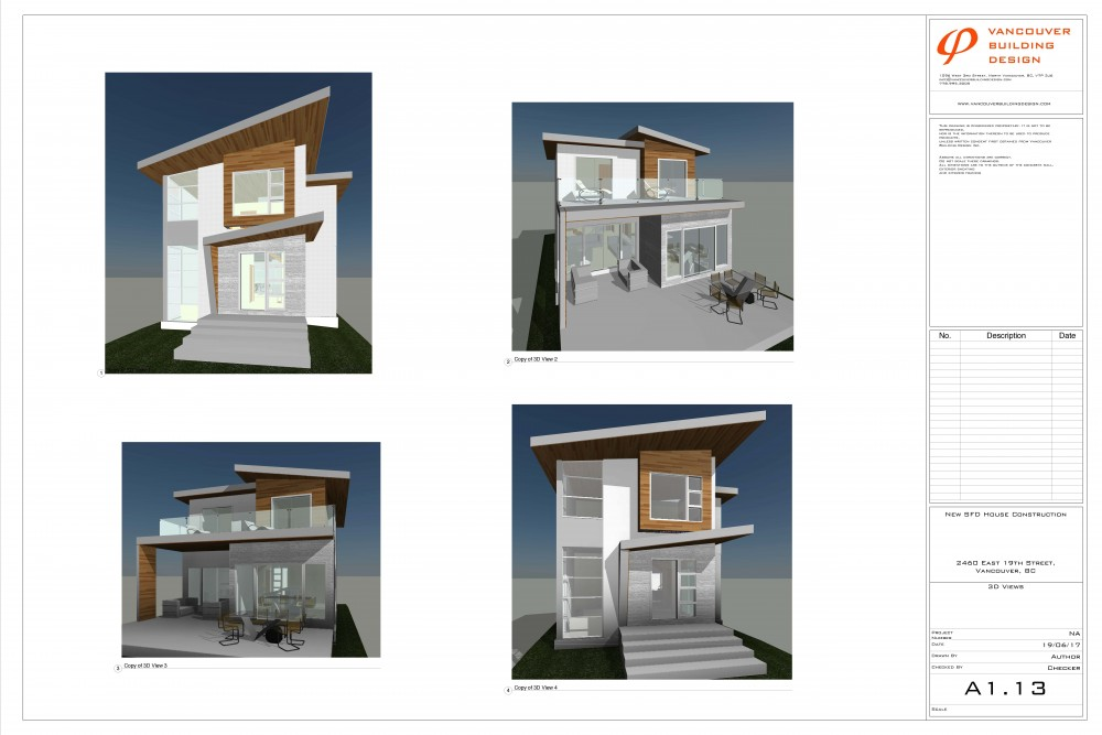 2454 E 20th Ave New House Render
